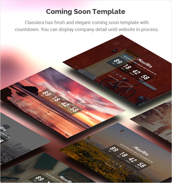 Coming Soon template