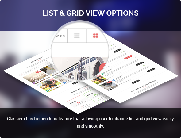 List And Grid View