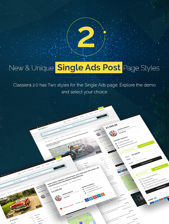 Top Classified WP theme